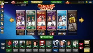 Blackjack Casino Game on the Rise on Facebook