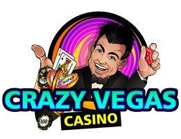 Elegantes neues Design für Crazy Vegas Online Casino